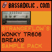 StrangeFlow's (FREE) Wonky TR606 Breaks Sample Pack