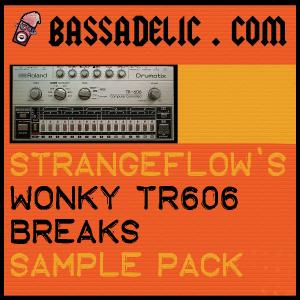 StrangeFlow's Wonky TR606 Breaks Sample Pack