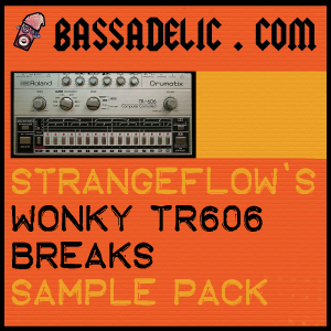 StrangeFlow's Wonky TR606 Breaks Sample Pack