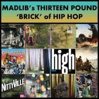 Madlib's 13 Pound 'Brick' of Hip Hop