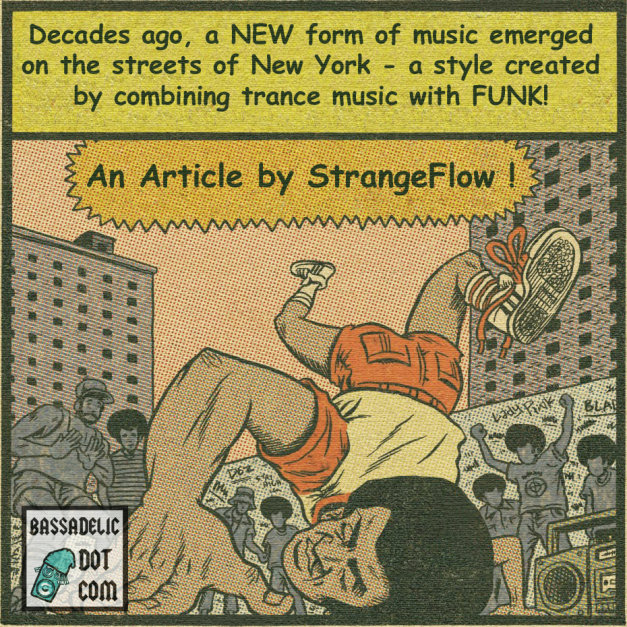 This is an altered form of an old image of a hip hop comic. I wish I knew the origins, but sadly, I do not...