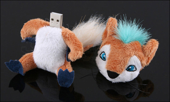 ...I couldn't find a decent photo of a USB Shark, I got this fox pic instead. Please, please forgive me...