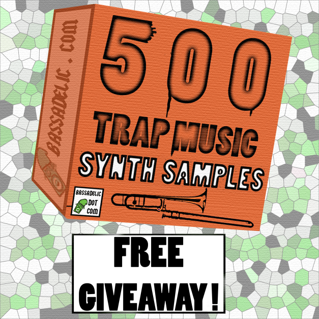 Free Giveaway of 500 Trap Music Synth Samples (including Bass and Brass)