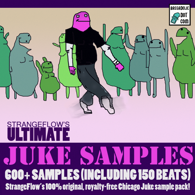 It's HERE! 600 Chicago Juke samples!!! ---Including the complete 808 and 909 drum samples! The rumors were correct!!!!