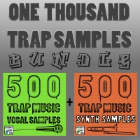 Get One Thousand Trap Music Samples!! Vocals, Instruments, & Bass!