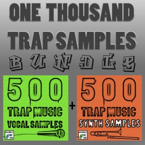 1000 Trap Samples Bundle - Vocals, Instruments, and Bass Sounds, from Bassadelic.com