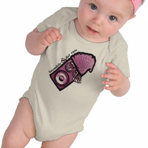 Bassadelic SF Shirt for a Baby