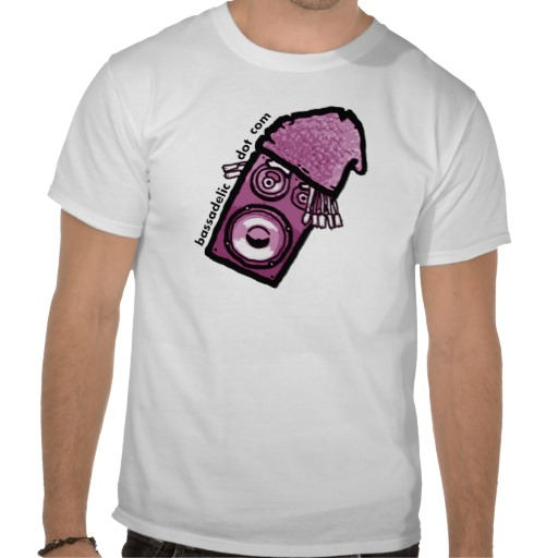 Bassadelic StrangeFlow Shirt! Available in Male, Female, Large, Small, Medium, and Baby