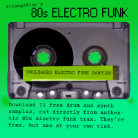 A Bunch of Free 80s Electro Funk Samples