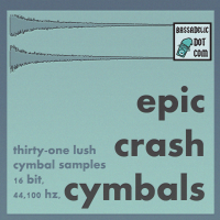 31 Epic Crash Cymbal Samples, Get 'em While They're Nice 'n Crispy!