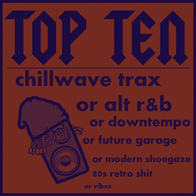Top Ten Chillwave Trax! by Will Dunn (aka StrangeFlow, aka 5ifty$ix K)