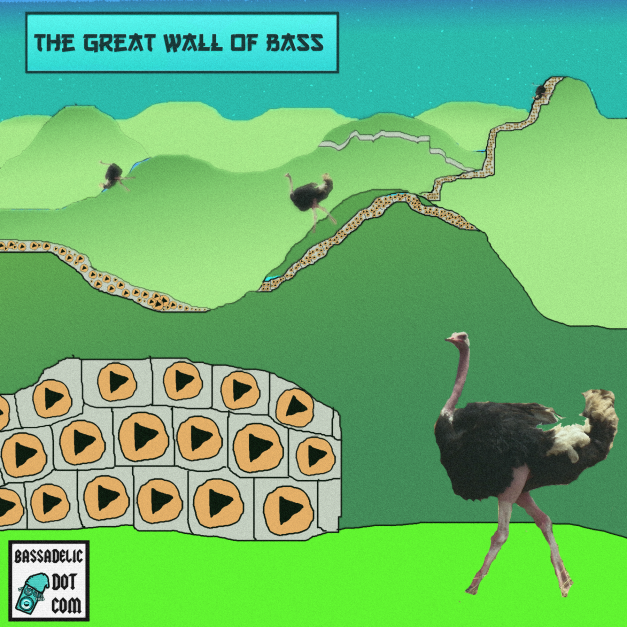 the Great Wall of Bass dot com - the biggest wall in the history of the internet!