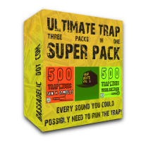 1200 TRAP SAMPLES! Ultimate 3-in-1 Trap Super Pack..