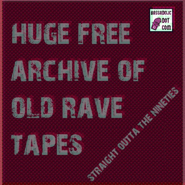 Free 90s Electronic Music Tapes!