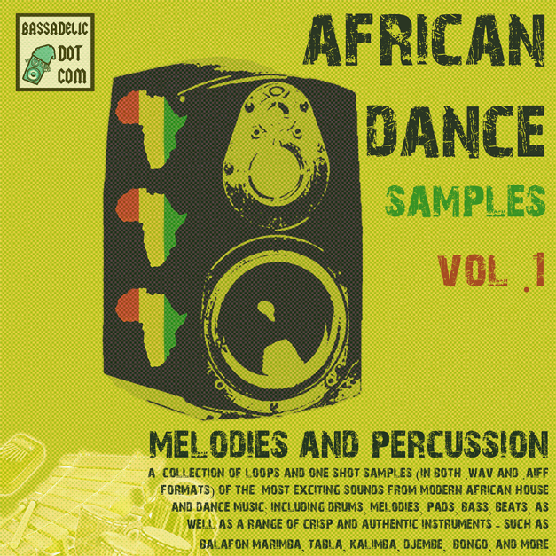African Dance Samples Vol 1 - Melodies & Percussion