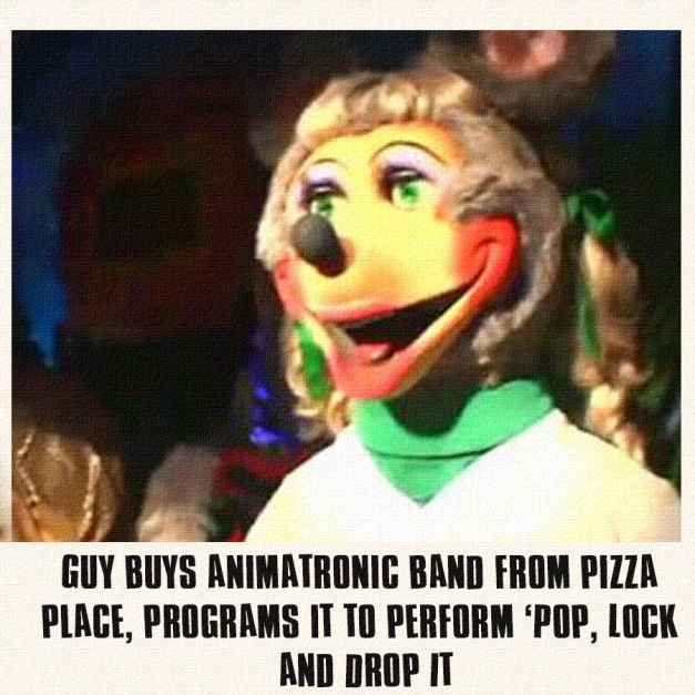 Rock-afire: Pop Lock and Drop It