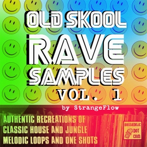Old Skool Rave Samples VOL 1, by StrangeFlow
