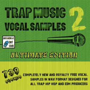 BULK 739-Sample Trap Vocal Package is Here, FINALLY!!!