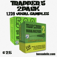 1,239 trap vocal samples.. TRAPPER'S 2PACk !! Download it now and maintain the trap!!