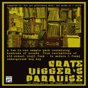 (Dilla-inspired) Crate Digger's Paradise – 2-Sample-Packs-in-1: Authentic Funk Samples AND Modern Underground Hip Hop