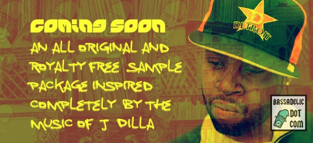 J Dilla - sample package, by Bassadelic