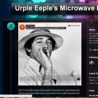 "Urple Eeple's Microwave Beat project. ""You Decide What I Finish,"" (Day 7: Bootleg of Bollywood O Babuaa Yeh Mahua Mahakne Laga - Asha Bhosle - Sadma)"