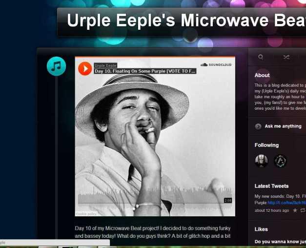 Urple Eeple's Microwave Beats