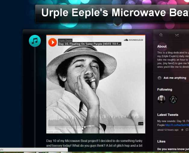 Urple Eeple's Microwave Beats