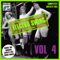 (1 GB!!) Vol 4 of Electro Swing Samples and 100 Royalty-Free Swing Songs Available Right Now!