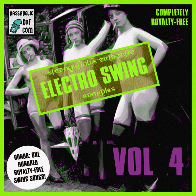 StrangeFlow's Authentic Electro Swing Samples VOL 4 !