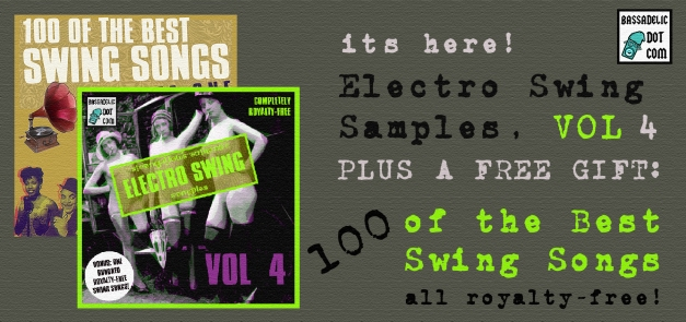 StrangeFlow's Authentic Electro Swing Samples, VOLUME 4 - available only at Bassadelic.com