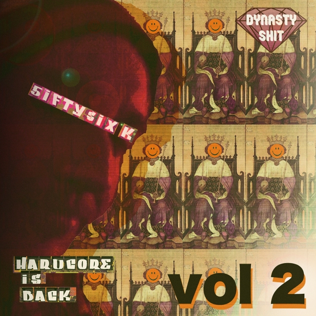 COVER - New Footwork-Breakcore tracks on Hardcore is Back (vol 2) 5ifty$ix K, this one is a bit too evil. I like it.